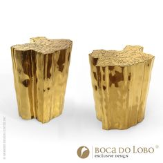 Eden Side Tables - Coolors Collection by Boca do Lobo   This side table represents a part of the tree of knowledge and the tale of the birth of desire.  More details visit http://www.bocadolobo.com/en/coolors-collection/coffee-and-side-tables/eden-side-table/