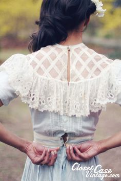 LAST CHANCE 1900 Wedding Dress Antique by closetcaseVNTG on Etsy, $118.00