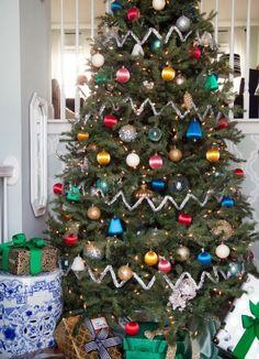 Joyously Colorful Christmas Tree - ELLEDecor.com