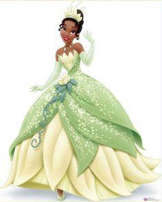 Princess Tiana. love her!
