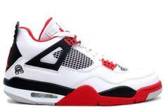 outlet store a6999 cd07d 2013 New Mars Blackmon (White   Varsity Red - Black) Air Jordan 4 (IV) Retro  Sports Shoes Store