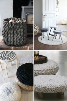 The Fuzzy Corner: Knits - Need some Inspiration for your Home?