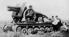 15cm sIG 33 (sf) Panzerkampfwagen I Ausf B Bison prototype