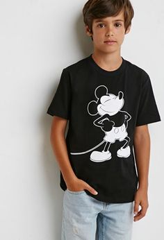 Boys Mickey Mouse Tee (Kids) | FOREVER 21 BOYS - 2000174899