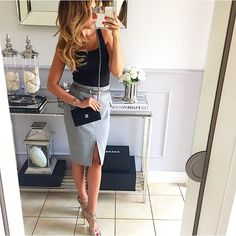 Aristocratic chic: 14 luxurious looks with a skirt Business Casual Outfits, Business Attire, Business Fashion, Classy Outfits, Chic Outfits, Fashion Outfits, Womens Fashion, Office Fashion, Work Fashion