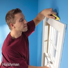stop that cold draft coming in around windows and doors by removing the trim and sealing the airflow permanently. it takes a little work, but you