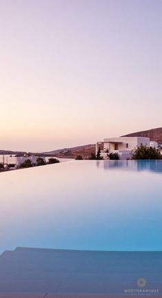 Greece Travel Inspiration - The infinity pool at the Anemi Hotel in Folegandros