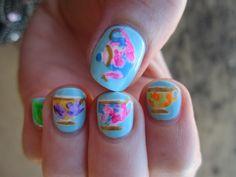 reneesnails:  Tea cup nails. More original nail art.
