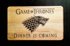 Game of Thrones Christmas gift Cutting Board by HeartwarmingGift