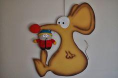 La vaquita de lanita: Cartman de South Park (patrón)