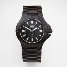 #fathersday gift idea - black natural wooden watch - #redenvelope