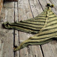 Unisex shawl knitting pattern