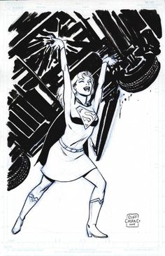 Supergirl by Cliff Chiang