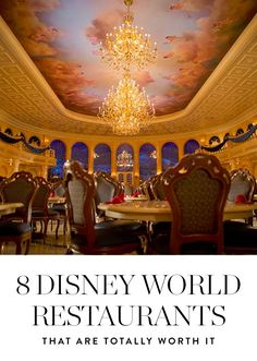 Here are 8 Disney eateries where the food is as magical as the décor.
