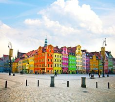 Wroclaw City, Poland
