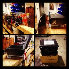 via @dbasterrechea on Twitter Custom removable pelican case on an iRack with 1 snowboard bracket kit. Pelican Case, Arcade Games, Snowboard, Liquor Cabinet, Action, Kit, Storage, Twitter, Furniture