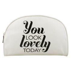 MelitaRose | MelitaRose You Look Lovely Makeup Bag at Spoiled Brat