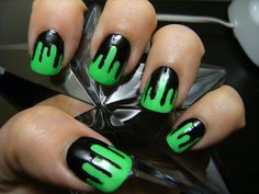 Mode unique: Easy to make Halloween nail designs (nail art)