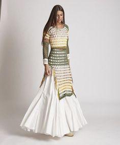 We will always have white color Crochet Shirt, Knit Crochet, Couture Fashion, Boho Fashion, Crochet Wedding Dresses, Barbie Mode, Estilo Hippie, Moda Boho, Crochet Fashion
