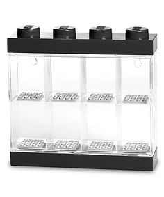 Take a look at this LEGO® LEGO Black Minifigure Display Case today!