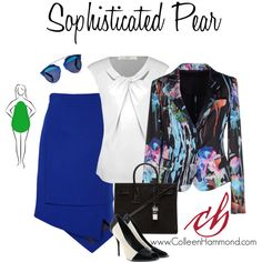 Sophisticated Pear, Set 3 by colleen-hammond on Polyvore featuring Dex, Emporio…