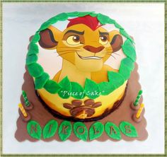 The lion guard cake More