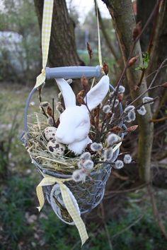 Mein Name ist Hase - Dekoration zum hängen von Frijda im Garten - Aus einer Idee wurde Leidenschaft auf DaWanda.com