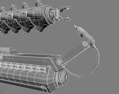 WIP Arc gun from District 9 — polycount