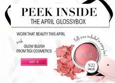 GLOSSYBOX April 2013 Spoiler