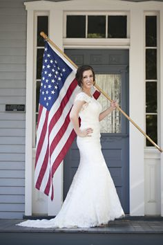 Bridal shoot for a fourth of July wedding!