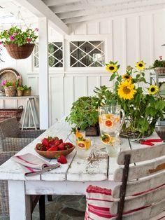 Ojai Cottage   The Polished Pebble   Porch