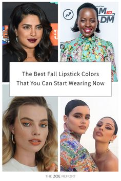 Beauty, makeup, lipstick, fall trends, fall style Fall Lipstick Colors, Lipstick Shades, Makeup Lipstick, Makeup Inspo, Beauty Makeup, Hair Beauty, Beauty Secrets, Beauty Hacks, Cute Haircuts