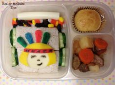 Lunch Made Easy: Pow Wow Fall Bento #Thanksgiving