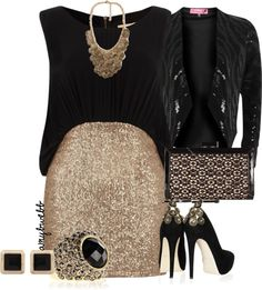 """""""All that glitters is GOLD!"""" by amybwebb ❤ liked on Polyvore"""