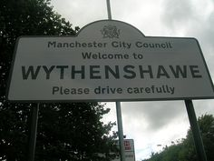 Welcome to Wythenshawe by Gene Hunt, via Flickr