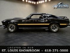 1969 Ford Mustang Mach 1  - Stock #5733-STL