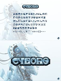 CYBORG is a beautiful display modern font. Use it for movie titles, posters, logo, and game titles or whatever you can think of. Add a robotic, sci-fi feel to Game Title, Galaxy Design, Movie Titles, Modern Fonts, Custom Fonts, Special Characters, Lower Case Letters, Lowercase A, Sci Fi