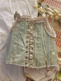 Lovely all original set on under garments for size 10 Bebe Jumeau .... France circa 1885 / 90 ,  factory all original and in generally excellent