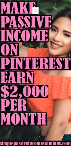 I know it sounds impossible, but it is not. I make passive income on Pinterest and you can read how I do it in my article. Be ready to get blown away! #passiveincome #makemoneyonpinterest…More