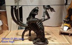alien coffee table furniture art for sale