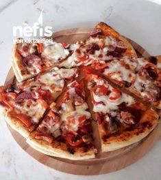 Pizza  #pizza #pizzatarifleri #nefisyemektarifleri #yemektarifleri  #tarifsunum #lezzetlitarifler #lezzet #sunum #sunumönemlidir #tarif  #yemek #food #yummy Hawaiian Pizza, Vegetable Pizza, Vegetables, Food, Veggie Food, Vegetable Recipes, Meals, Vegetarian Pizza, Veggies