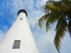 With a Key Biscayne lighthouse and a top beach, Bill Baggs Cape Florida State Park is a great spot, What's more, there are restaurants and trails. Florida Keys, Florida Beaches, Key Biscayne Beach, Beach Tops, Sangria, State Parks, Lighthouse, Climbing, Cape