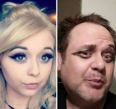 Clever Dad Perfectly Recreates His Daughter's Selfies