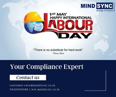 Respect & gratitude in boundless measures to our front line workers 🙏 A big salute for the efforts, sacrifices, courage, and commitment. Contact us for #business #compliance #services: customer.care@mindsync.co.in | 9343390988 | www.mindsync.co.in #mindsyncindia #labourday #mayday #legalmetrology #digitalsignaturecertificate #dsc #CDSCO #importofcosmetics #cosmeticsregistration #fssai #registration #license #legalservice #startup Digital Signature, Line Worker, Labour Day, Gratitude, Work Hard, Respect, Effort, Management, Mindfulness