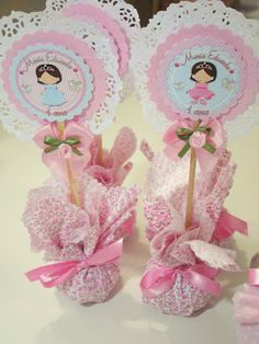 Risultati immagini per ideias para festa bailarina Baby Shower Centerpieces, Baby Shower Decorations, Shower Party, Baby Shower Parties, Diy Birthday Banner, Girl Birthday, Diy And Crafts, Paper Crafts, Ballerina Party