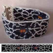 Spider Web Bead Bracelet Pattern