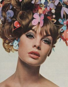 flower power in the 60s.