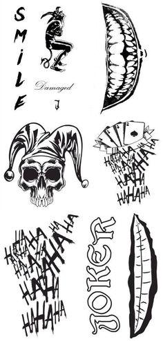 Joker tatoos Leto