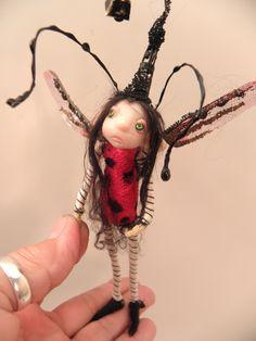 lady bug pixie fairy by DinkyDarlings