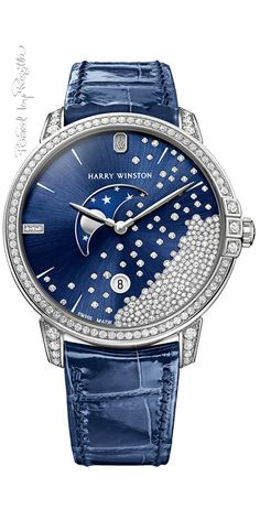 See the Harry Winston Premier Precious Marquetry watch - Movement : Quartz - Case : White gold Harry Winston, Sport Watches, Cool Watches, Cheap Watches, Unusual Watches, Ladies Watches, Popular Watches, Swiss Army Watches, Diana Spencer
